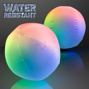 Light Up Beach Ball with Color Change LEDs - BLANK